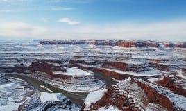 Nieżywy Koński Punkt, Utah Fotografia Royalty Free