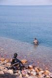 nieżywy kochanków błota morze Fotografia Royalty Free