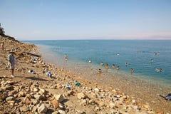Nieżywy morze Fotografia Stock