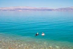 Nieżywy morze Engedi fotografia royalty free