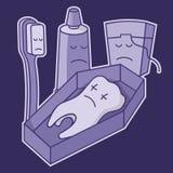 nieżywy ząb royalty ilustracja