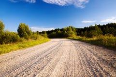 nie asfaltująca droga Zdjęcie Stock