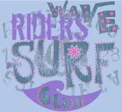 nie, club surf Zdjęcia Royalty Free