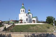 Nie duży Ortodoksalny kościół Obraz Stock