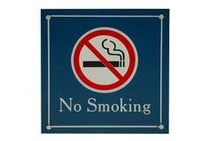 nie ma palenia sig Obrazy Stock