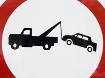 nie parkować Obrazy Stock
