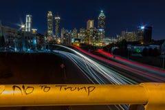 Nie Przebijać z widokiem Atlanta, dziąsła obrazy stock