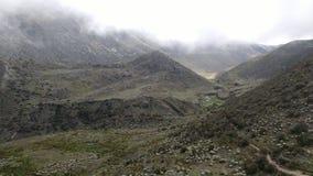 Nieżywa dolina, Culata Obrazy Stock