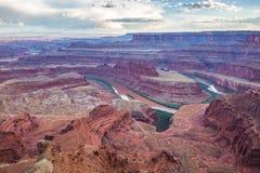 Nieżywego konia punkt, Utah, usa Zdjęcia Royalty Free