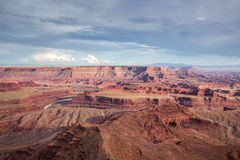 Nieżywego konia punkt, Utah, usa Obraz Royalty Free