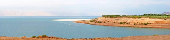Nieżywego morza panorama Zdjęcie Stock