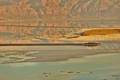 Nieżywego morza powierzchni soufth strona Obraz Royalty Free