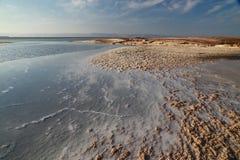Nieżywego morza sole fotografia royalty free