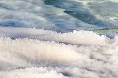 Nieżywego morza soli depozytów kamienie Obraz Stock