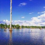 Nieżywi jeziora Obrazy Stock