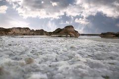 nieżywy morze Fotografia Royalty Free