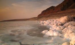 Nieżywy morze, Jordania Obraz Royalty Free