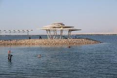 Nieżywy morze w Izrael, Ein - Bokek Zdjęcia Stock