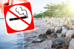 nieżywy palenie zabronione Zdjęcia Stock