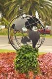 nie - ziemska globus Zdjęcie Royalty Free