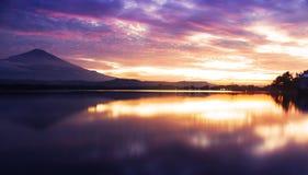 Nieba światło Sedong jezioro Zdjęcie Royalty Free