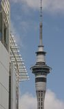 nieba auckland tower Obrazy Royalty Free
