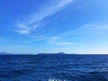 Nieba błękit i morze Obrazy Stock