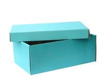 Nieba błękit przetwarza papierowego pudełko, ścinek ścieżka Obraz Royalty Free