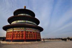 nieba beijing świątyni Obrazy Royalty Free