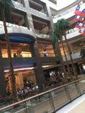 Nieba centrum centrum handlowe zdjęcia stock