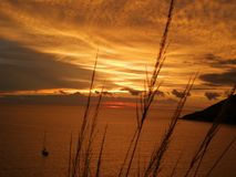 Nieba i morza widok w Phuket Obrazy Royalty Free