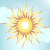 nieba jasny słońce royalty ilustracja