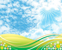 nieba lato Obraz Royalty Free