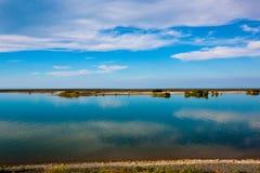 Nieba morza krajobrazu spokojna scena Zdjęcie Royalty Free
