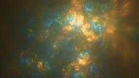 Nieba odbicia abstrakta rozjarzony tło Obraz Royalty Free