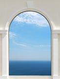 nieba okno Zdjęcie Stock