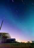nieba pasmowy gwiazdowy Obrazy Royalty Free