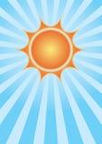 nieba słońce Zdjęcie Royalty Free