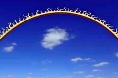 nieba słońce Zdjęcia Stock
