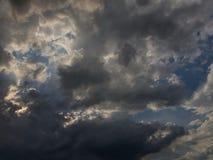 Nieba whit chmury obrazy stock