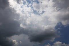 Nieba whit chmury obrazy royalty free