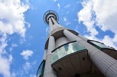 Nieba wierza w Auckland Nowa Zelandia Zdjęcie Stock