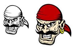 Niebezpieczeństwa pirata kapitan Zdjęcie Stock