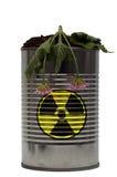 niebezpieczeństwa promieniotwórczy jądrowy Zdjęcia Royalty Free