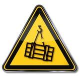 Niebezpieczeństwa złamanie i ilustracja wektor