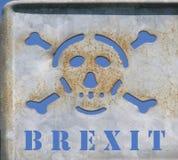 Niebezpieczeństwo śmierć Brexit obraz royalty free