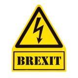 Niebezpieczeństwo śmierć Brexit obrazy royalty free