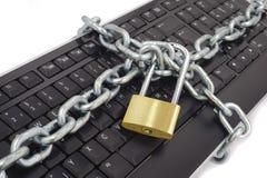 niebezpieczeństwo internety zdjęcie stock