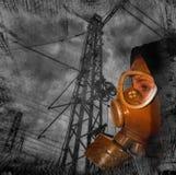 niebezpieczeństwo jądrowy Zdjęcia Stock