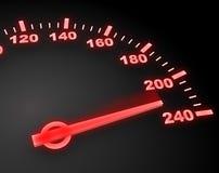 niebezpieczeństwo prędkość royalty ilustracja
